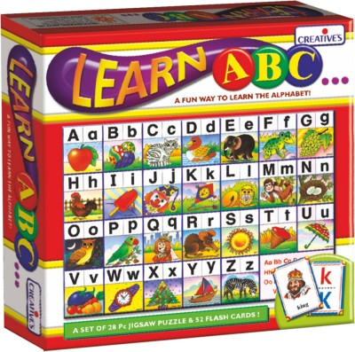Creative Educational Aids Learn ABC