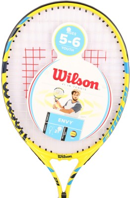 Wilson Envy 21 Yellow Strung Tennis Racquet