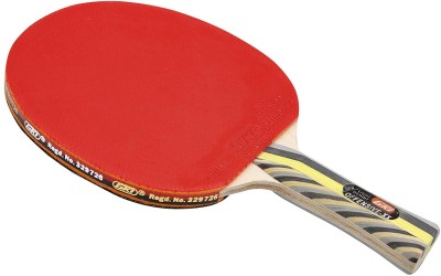 GKI Offensive XX New Computerised Printed Cover Red Table Tennis Racquet