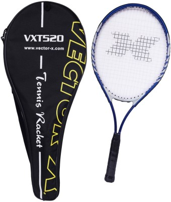 Vector X Vxt 520 26 inches with full cover Blue, White Strung Tennis Racquet