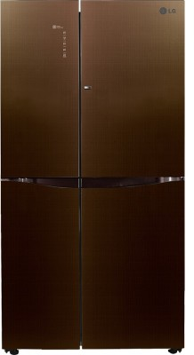 LG 679 L Frost Free Side by Side Refrigerator