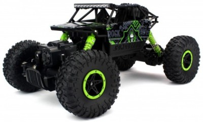 The Flyer's Bay ROCK CRAWLER 1:18 Scale 4WD RALLY CAR - The Mean Machine (Green)
