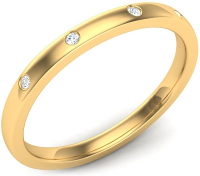 Kataria Jewellers The Adelle BIS Hallmarked Gold 14kt Diamond Yellow Gold ring