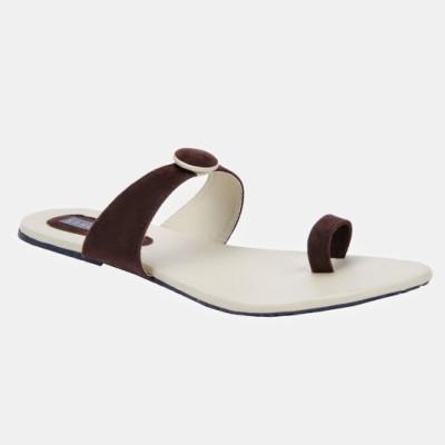 Azores Women Brown Flats