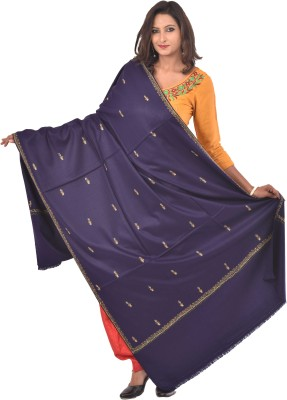 Weavers Villa Acrylic Embroidered Women's Shawl