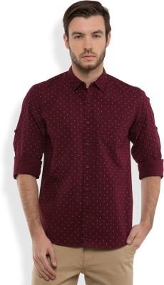 Highlander Men's Printed Casual Regular Shirt