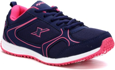 Sparx Stylish Blue & Pink Running Shoes For Women