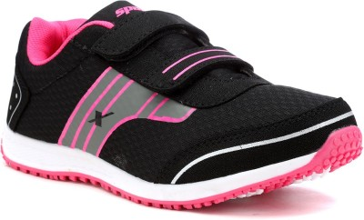 Sparx Stylish Black & Pink Walking Shoes For Women