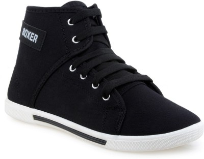 Cox Swain Black_Boxer Casual Shoes For Men