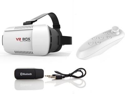 Techvik Latest Design Hot Selling Virtual Reality 3D Headset Goggle Google Glasses Black Plastic VR Box