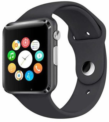 Goosprey A1-179 Bluetooth with Built-in Sim card and memory card slot Compatible with All Android Mobiles Black Smartwatch