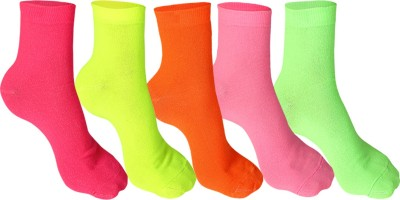 Supersox Women Solid Ankle Length