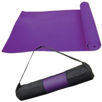 Quick Shel Exercise mat durable quality Purple 4 mm Yoga Mat
