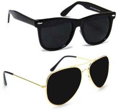 Cruze Wayfarer, Aviator Sunglasses