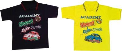 Shanti Store Boys Graphic Print Cotton T Shirt
