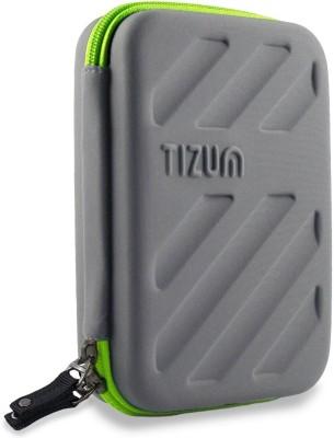 TIZUM Universal Electronics Travel Organizer / Gadget Organizer Accessories Carry Bag - Rugged, Shock Proof & Water Resistant