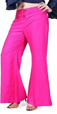 pravin Regular Fit Women Pink Trousers