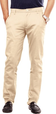 Uber Urban Slim Fit Men's Beige Trousers
