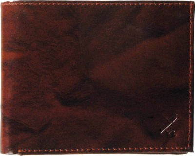 Yours Luggage Men Brown Genuine Leather Wallet