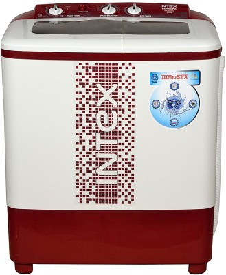 Intex 6.2 kg Semi Automatic Top Load Washing Machine Maroon