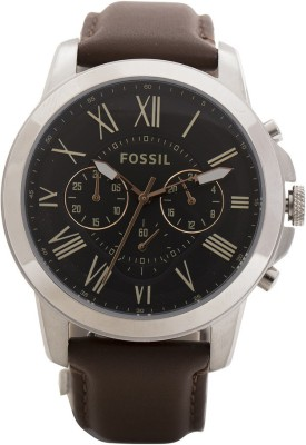 Fossil FS4813I GRANT Analog Watch  - For Men