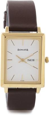 Sonata NG7078YL03 Analog Watch  - For Men