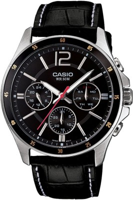 Casio A834 Enticer Analog Watch  - For Men