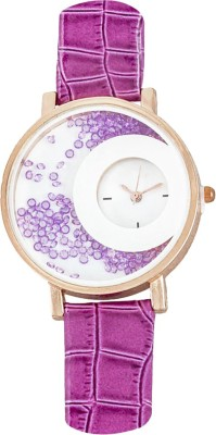 Frenzy MxRe_ONION-Pink_MovingBeeds Analog Watch  - For Women