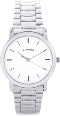 Sonata ND1013SM01C Analog Watch  - For Men