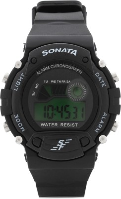 Sonata NG7982PP03J Digital Watch  - For Men