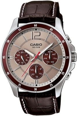 Casio A955 Enticer Analog Watch  - For Men