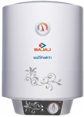 Bajaj 15 L Storage Water Geyser (New Shakti Glasslined, White)