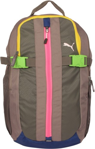 7f641e5c8f6 Buy Puma Unisex Cream Casual Backpacks 5 L Backpack at best price in India  - BagsCart
