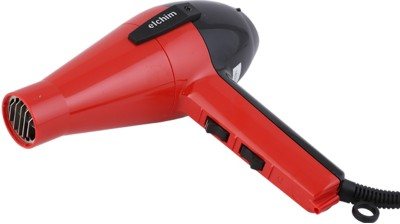 Elchim Compact Ergonomic by Roots Professionals 2001 Hair Dryer Red