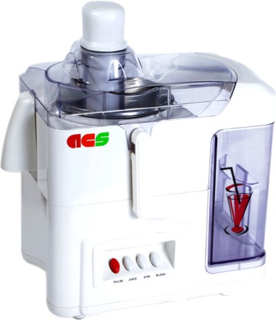 ACS Fruitoo+ 500 W Juicer Mixer Grinder White, 2 Jars