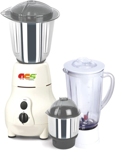 ACS Pride Power 750 W Juicer Mixer Grinder Cream, 3 Jars