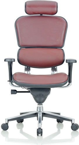 Buy Featherlite Pinnacle Ehs Hal Leather Office Chair At