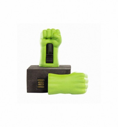 Planet Superheroes Hulk 8 GB Pen Drive Green