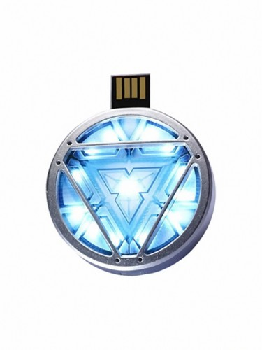 Planet Superheroes Arc Reactor 8 GB Pen Drive Silver
