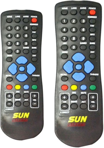 Skykart Sun Direct Remote Controller Black BUY ONE GET ONE FREE Remote  Controller