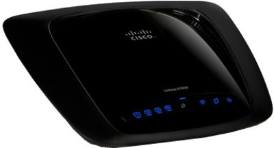 Cisco Linksys E1000 Wireless-N Router Black