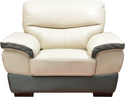 Buy Hometown Duval Leather 1 Seater Sofa At Best Price In India
