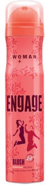 Engage Blush Deodorant Spray - For Women