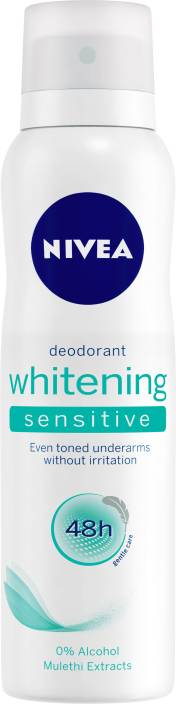 Nivea Whitening Sensitive Deodorant Spray - For Women
