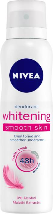 Nivea Whitening Smooth Skin Deodorant Spray - For Women