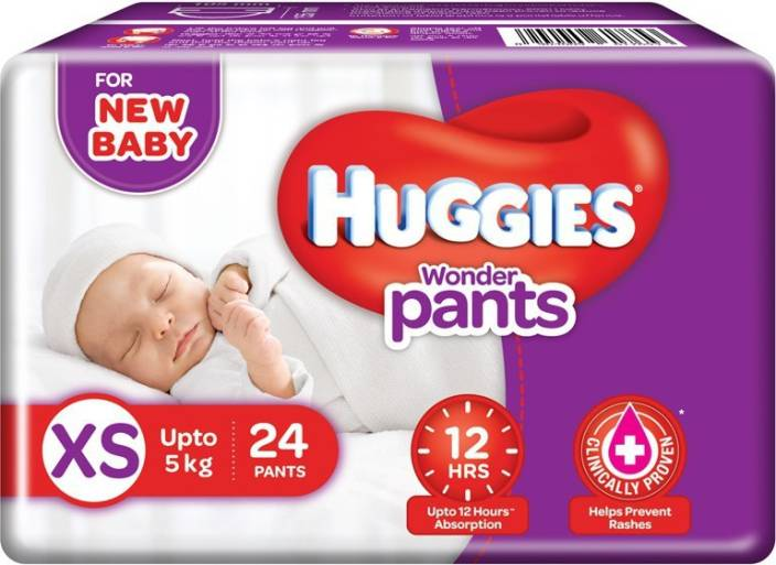 Huggies Wonder Pants Diaper - XS