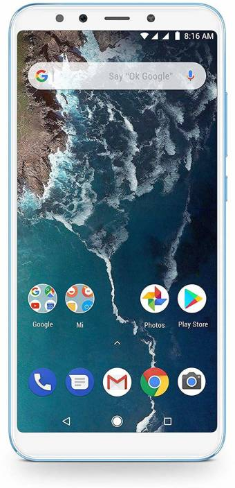 Mi A2 (Lake Blue, 128 GB)