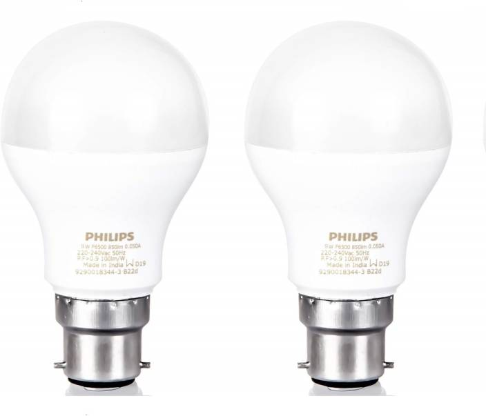 Philips 9 W Standard B22 LED Bulb