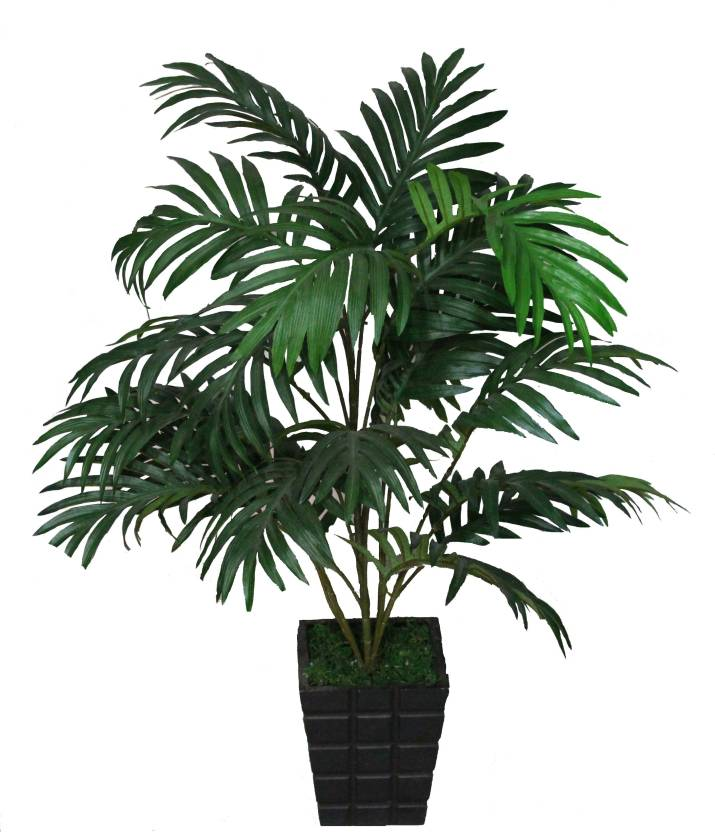 Pollination At Areca W/P 053 Artificial Plant 63 cm, Green