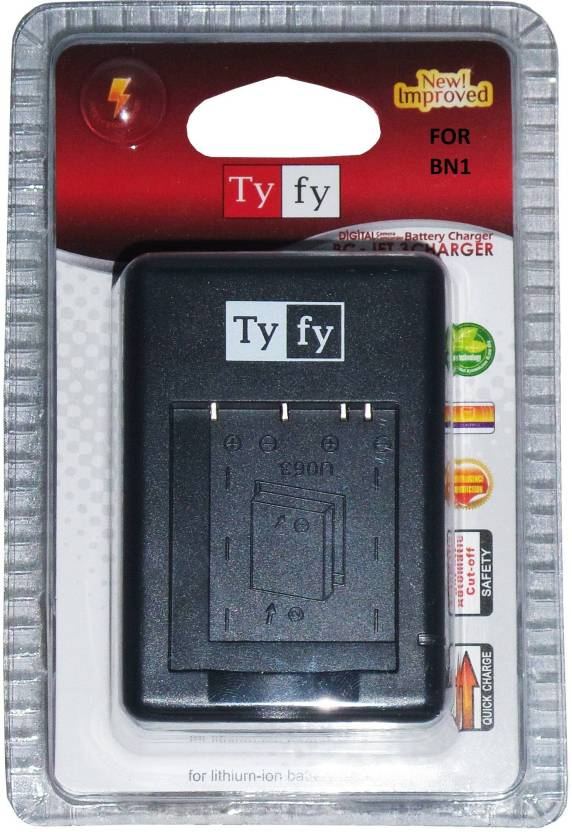 Tyfy Jet 3 for BN1 Ac Camera Battery Charger Black